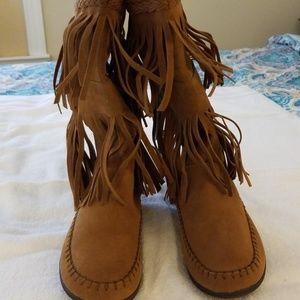 Rampage Tassle Boots